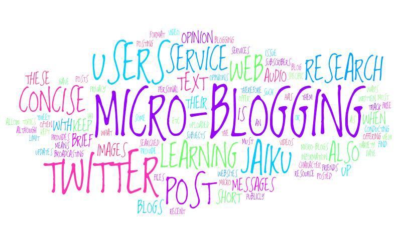 میکروبلاگ